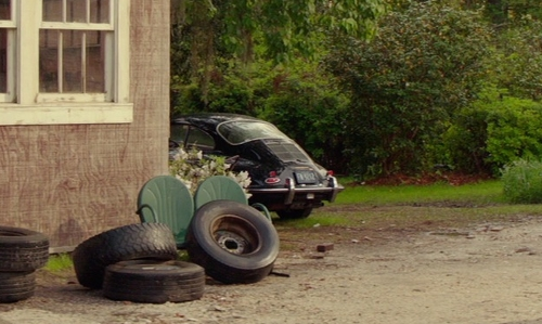 Unknown Actor with Volkswagen Beetle Sunroof Sedan in The Best of Me