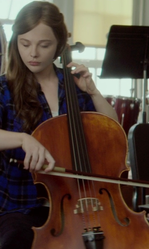 Chloë Grace Moretz with Franz Hoffmann Student Cello in If I Stay