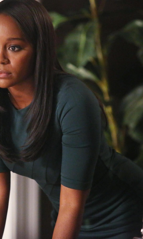 Aja Naomi King with Marc By Marc Jacobs Short Dress in How To Get Away With Murder