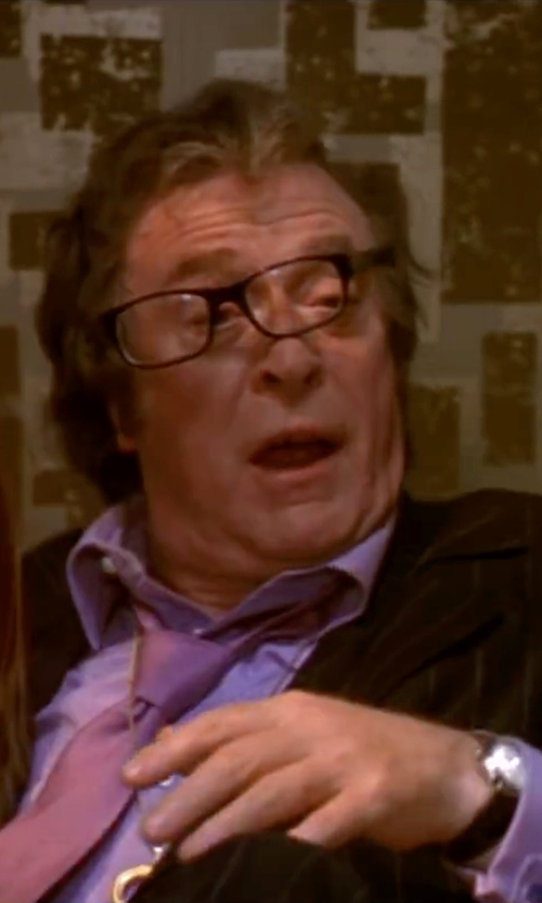 Michael Caine with Marc By Marc Jacobs 'Dillon' Leather Strap Watch in Austin Powers in Goldmember