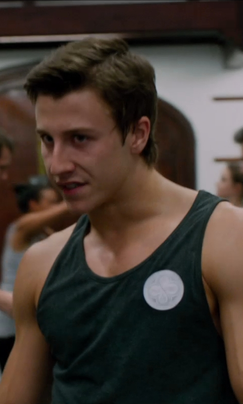 Edward Holcroft with Muldoons Sovereign Men's Tank Top - Tall Man Sizes in Vampire Academy