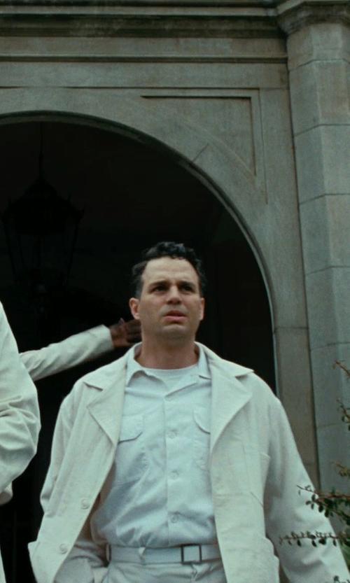 Mark Ruffalo with Sandy Powell (Costume Designer) Custom Made Jacket (Mark Ruffalo) in Shutter Island