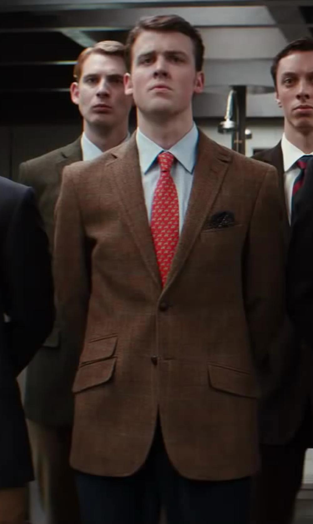 Matt Hookings with Gucci Cotton Point Collar Dress Shirt in Kingsman: The Secret Service