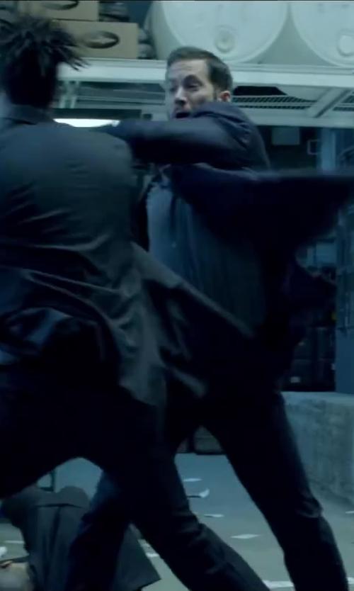 Paul Walker with Antony Morato Slim Fit Suit Pants in Brick Mansions