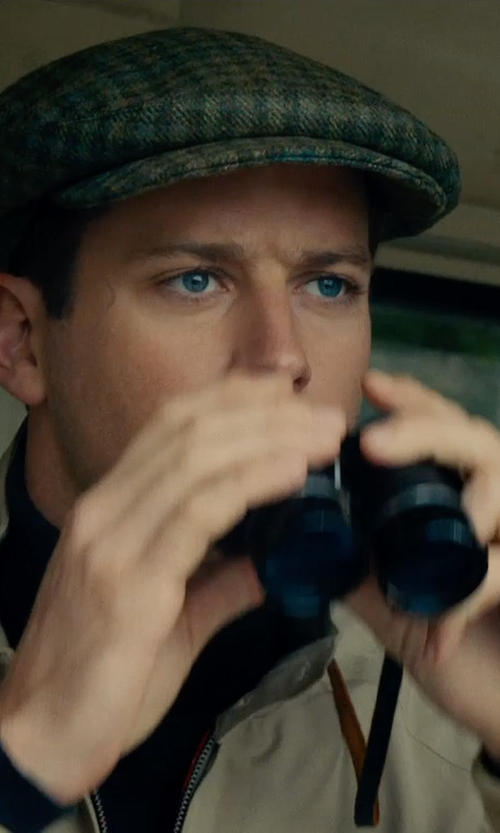 Armie Hammer with Snypex HD Profinder Binocular with Close up Focus in The Man from U.N.C.L.E.