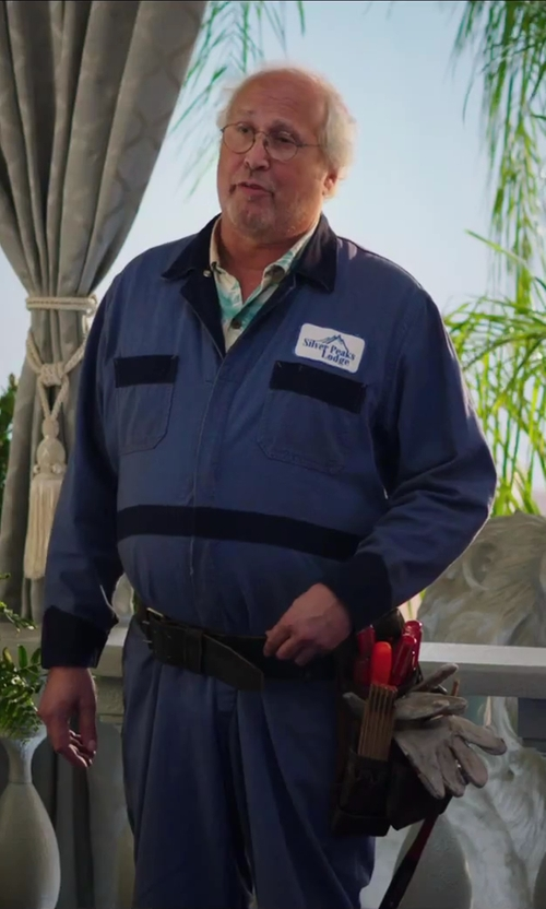 Chevy Chase with 7 Diamonds High Tide S/S Shirt in Hot Tub Time Machine 2