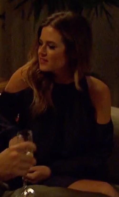 JoJo Fletcher with Ramy Brook Lauren Dress in The Bachelorette