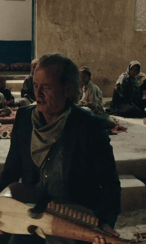 Bill Murray with Maharaja Musicals Rebab Guitar in Rock The Kasbah