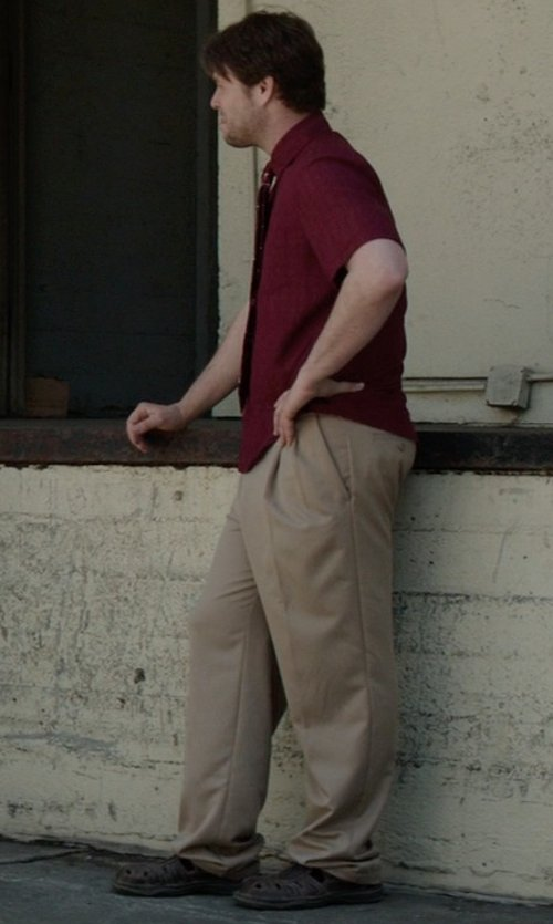 Ike Barinholtz with Lassen Luca Fisherman Sandal in Neighbors