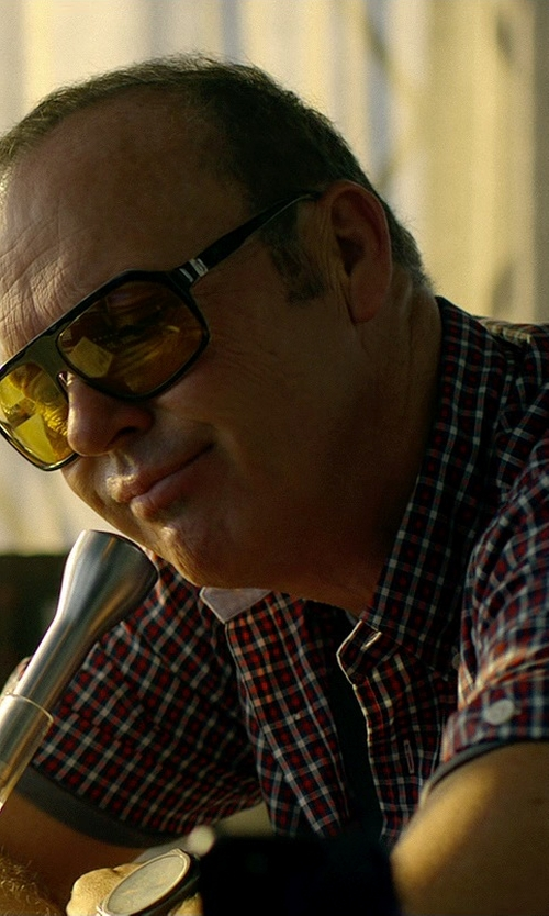 Michael Keaton with Alexander Daas Power Sunglasses in Need for Speed