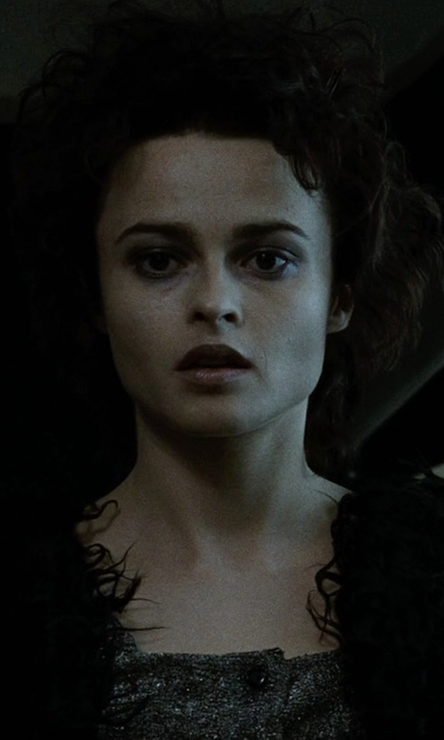 Helena Bonham Carter with Siste' S Deep Neckline Top in Fight Club