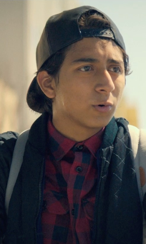Tony Revolori with 55DSL Japalm Bomber Jacket in Dope