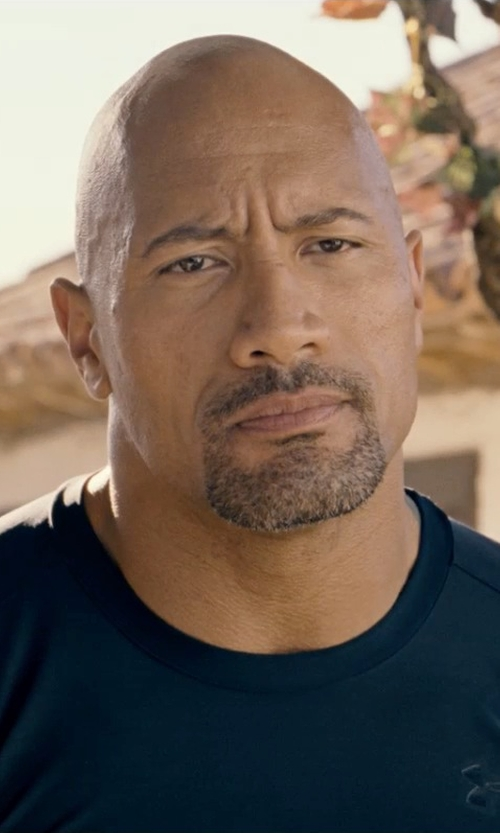 Dwayne Johnson with Under Armour Tactical Heatgear Compression Short Sleeve T-Shirt in Fast & Furious 6