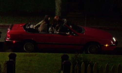 Jamie Blackley with BMW 1987 Series 3 Convertible in If I Stay