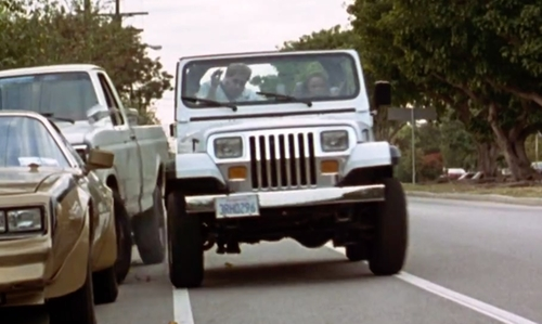 Alicia Silverstone with Jeep 1994 Wrangler SUV in Clueless
