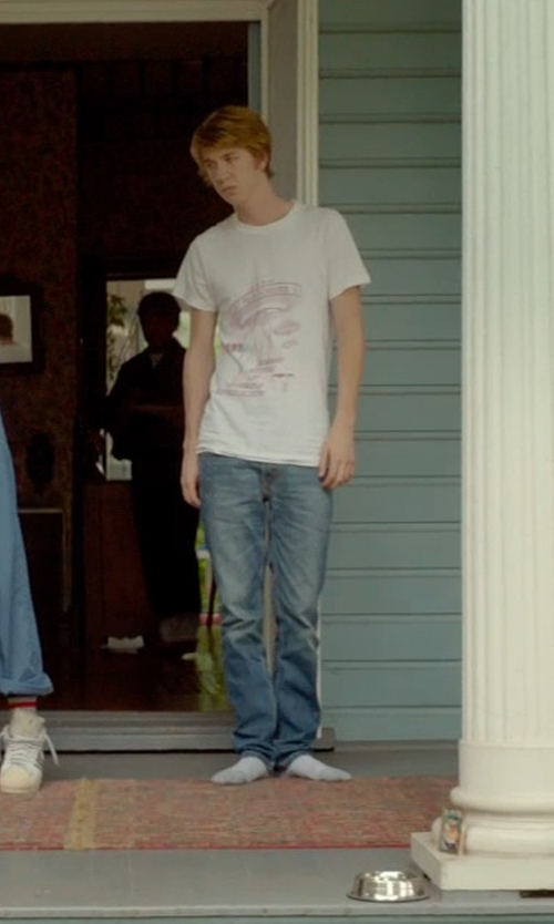 Thomas Mann with Tommy Bahama Denim 'Dallas' Authentic Fit Straight Leg Jeans in Me and Earl and the Dying Girl