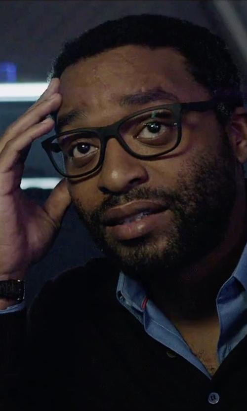 Chiwetel Ejiofor with Saint Honore Coloseo Automatic Watch in The Martian
