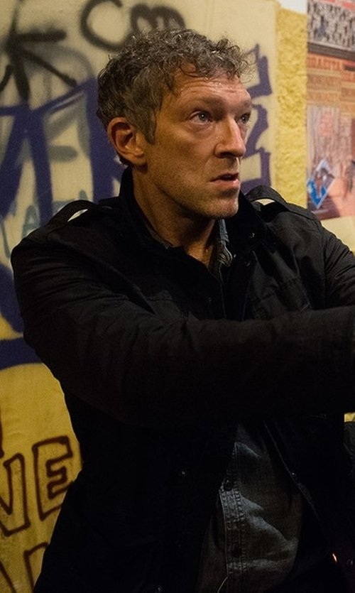 Vincent Cassel with Ralph Lauren Steering Jacket in Jason Bourne