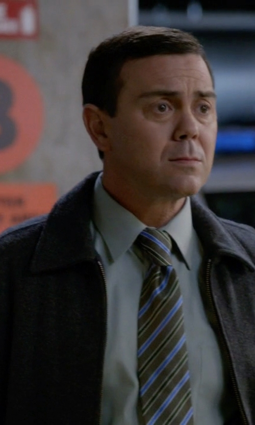 Joe Lo Truglio with Cheap Monday Bomber Jacket in Brooklyn Nine-Nine
