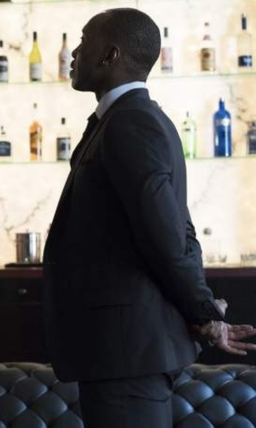 Mahershala Ali with Tom Ford Windsor Base Sharkskin Three-Piece Suit in Marvel's Luke Cage