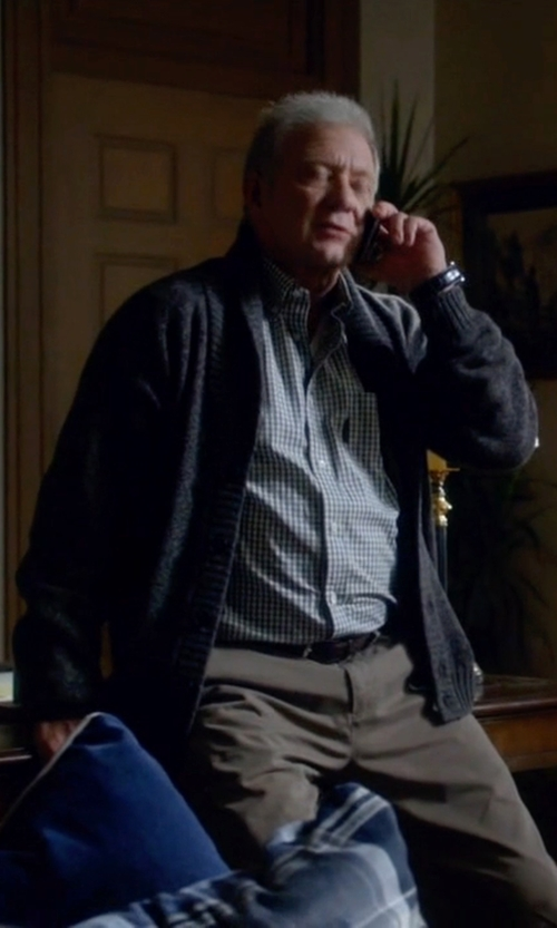 Jeff Perry with Public School Extended Cardigan in Scandal