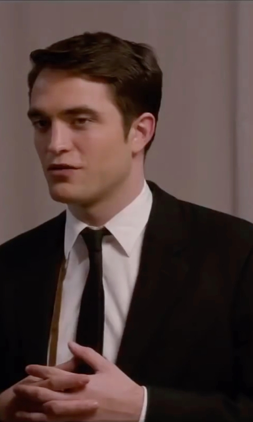 Robert Pattinson with Hugo Boss Solid Two-Piece Suit in Life