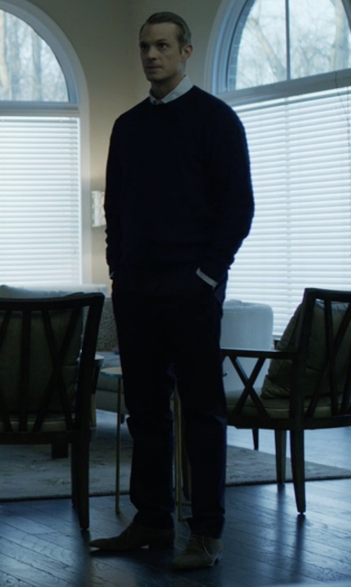 Joel Kinnaman with Vince Alberto Chukka Boots in House of Cards