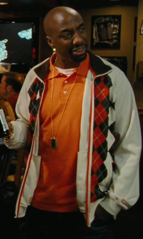J.B. Smoove with Alain Polo Shirt in Hall Pass