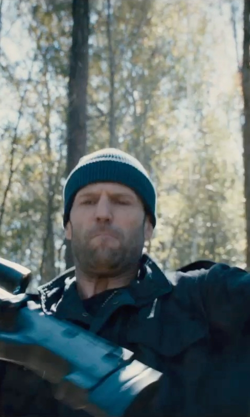 Jason Statham with UGG Calvert Beanie Hat in Furious 7