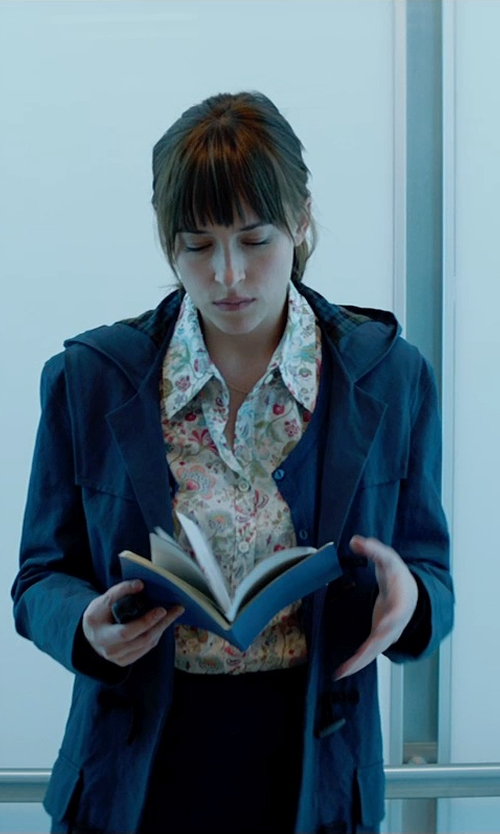 Dakota Johnson with Montgomery by John Partridge Classic Duffle Coat - Wool in Fifty Shades of Grey