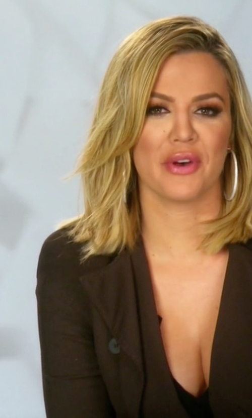 Khloe Kardashian with Capulet Bleeker Duster Trench Coat in Keeping Up With The Kardashians