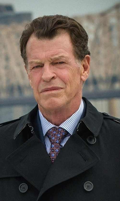John Noble with Ermenegildo Zegna Bold Striped Dress Shirt in Elementary