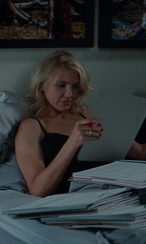 Cameron Diaz with Commando Tailored Slip Dress in The Other Woman