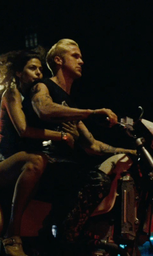 Eva Mendes with LNA Racer Back Tank Top in The Place Beyond The Pines