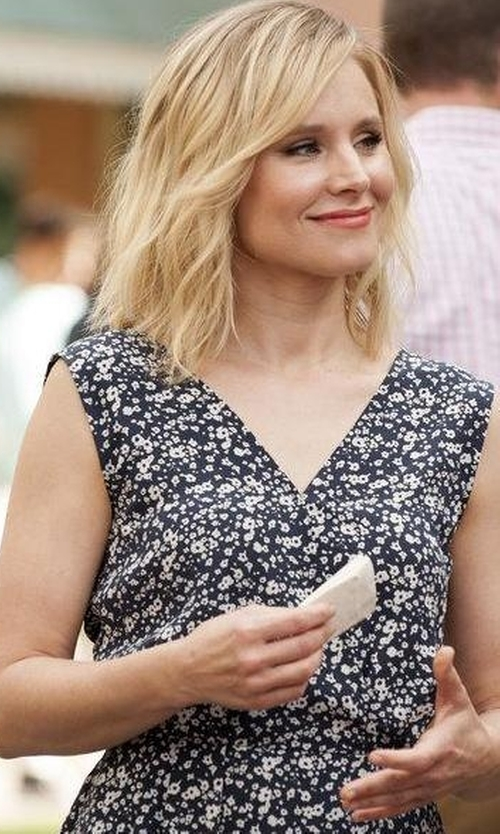 Kristen Bell with Ulla Johnson Noelle Dress in The Good Place