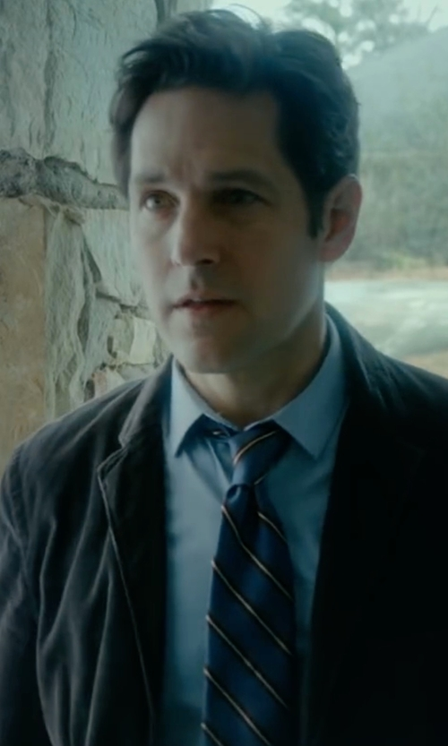 Paul Rudd with Calvin Klein Solid Two Button Blazer in The Fundamentals of Caring