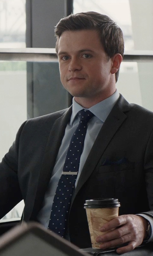 Hugo Johnstone-Burt with Tonello Two-Piece Suit in San Andreas