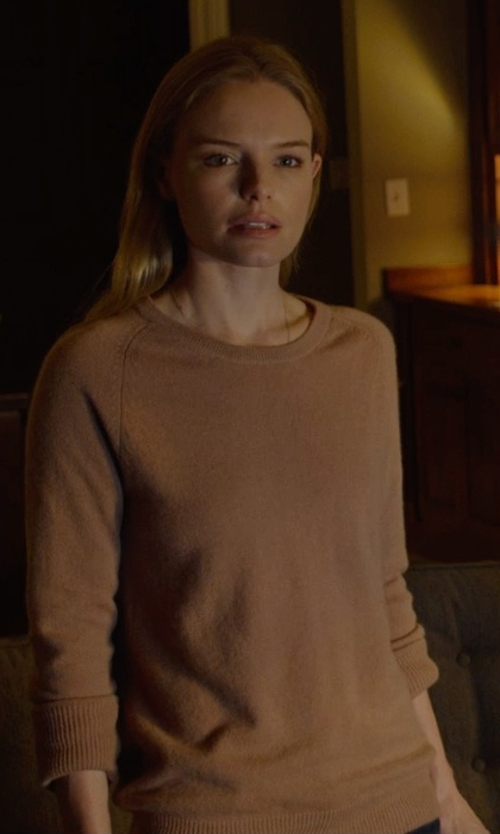 Kate Bosworth with Equipment Sloane Cashmere Sweater in Before I Wake