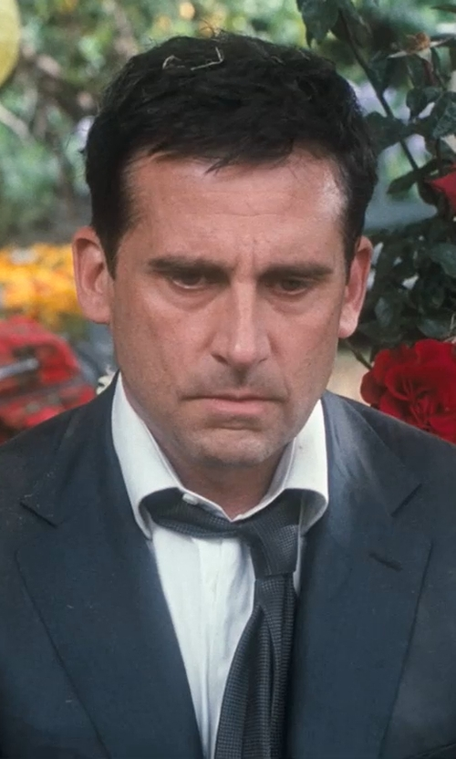 Steve Carell with Boss Hugo Boss Lawrence US Regular Fit Dress Shirt in Crazy, Stupid, Love.