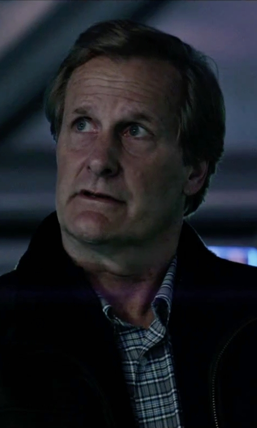 Jeff Daniels with The North Face Apex Chromium Thermal Jacket in The Martian