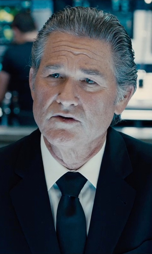 Kurt Russell with Dior Homme Two Button Suit in Furious 7