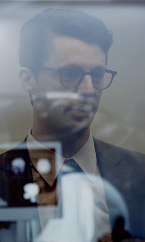 Matthew Goode with Armani Collezioni Modern Fit Basic Formal Shirt in Self/Less