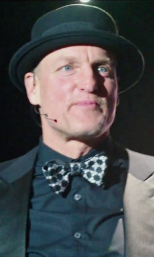 Woody Harrelson with Loro Piana Burt Fedora Hat in Now You See Me 2