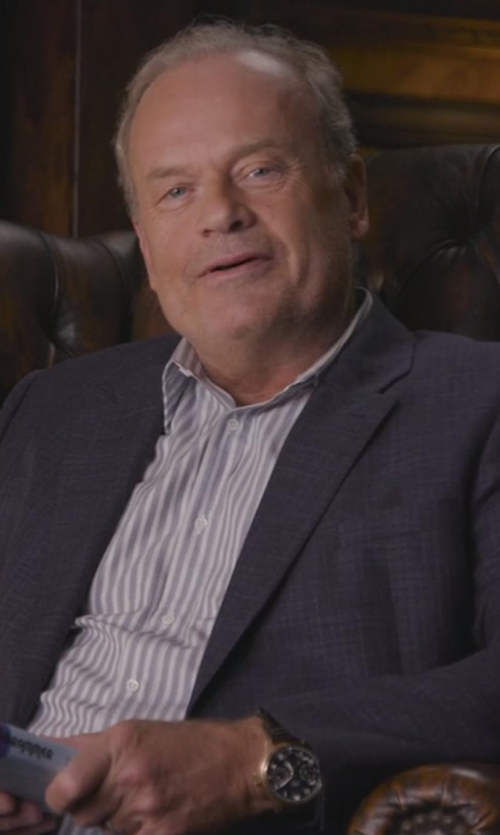 Kelsey Grammer with Tissot Men's Le Locle Automatic Watch in Chelsea