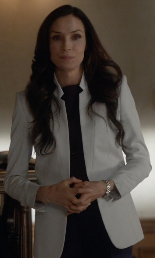 Famke Janssen with J.Crew Regent Blazer in How To Get Away With Murder