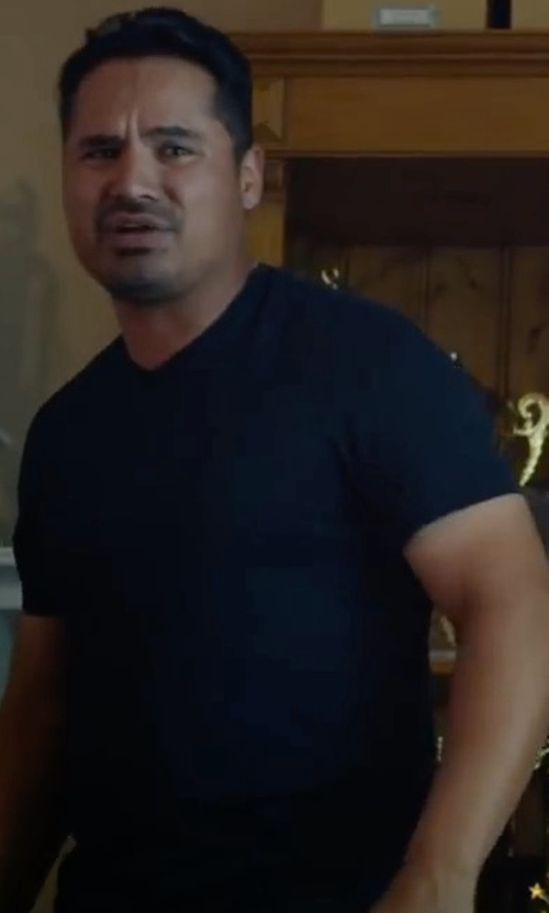 Michael Peña with John Elliott Mercer Tee in CHIPs