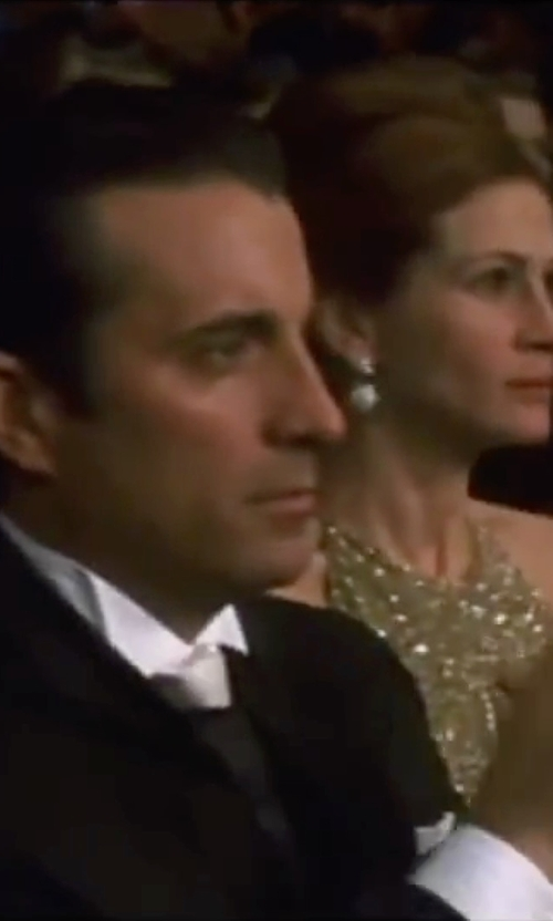 Andy Garcia with Robert Talbott Bib Front Tuxedo Shirt in Ocean's Eleven
