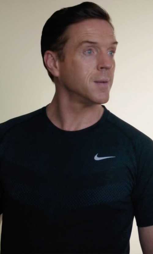 Damian Lewis with Nike Men's Dri-Fit Knit Short Sleeve T-Shirt in Billions