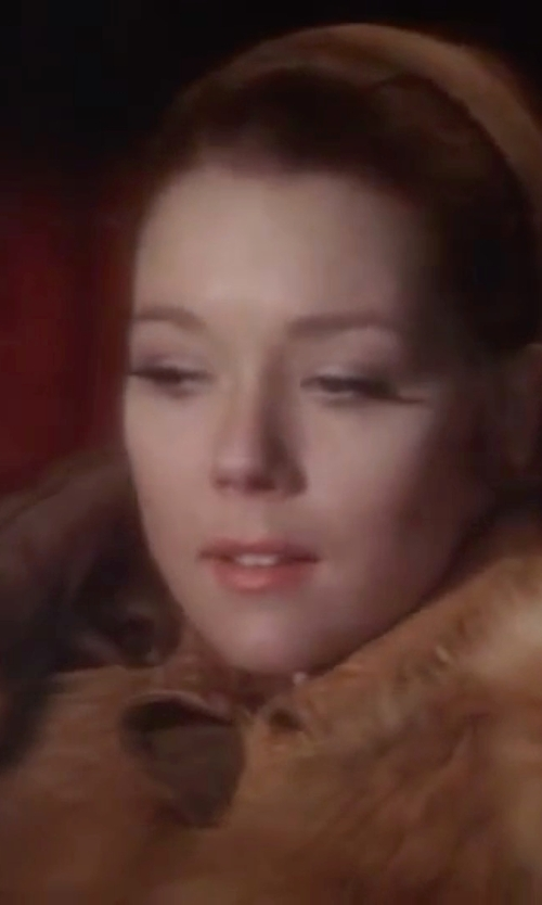 Diana Rigg with Ralph Lauren Leather Gloves in On Her Majesty's Secret Service