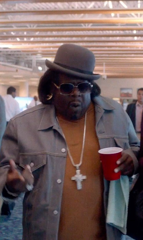 Cedric The Entertainer with Contempo Suits Bowler Derby Dress Hat in Top Five